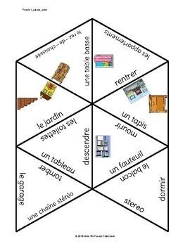 Bien dit 1 Chapitre 8 Vocabulary puzzles: à la maison
