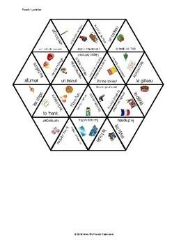 Bien dit 2 Chapitre 2 Vocabulary puzzle: Les fêtes