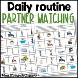 Bien dit 2 Chapitre 5: La routine quotidienne/ Daily routine matching activity