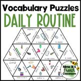 Bien dit 2 Chapitre 5 Vocabulary puzzles: La routine quotidienne