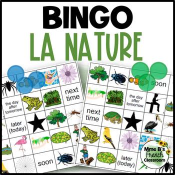 Bien dit 2 Chapitre 7: À la pêche/la nature Bingo