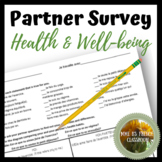 Bien dit 2 Chapitre 8: Health and well-being partner survey