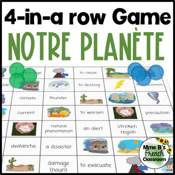 Bien dit 3 Chapitre 7: Notre planète 4-In-A-Row Game