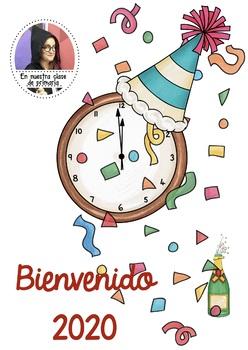 Bienvenido 2019 Happy New Year By En Nuestra Clase De Primaria Tpt