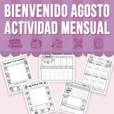 Bienvenido Agosto - Actividad Mensual (Distance Learning)
