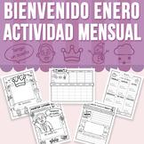 Bienvenido Enero - Actividad Mensual (Distance Learning)