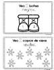 Bienvenido Invierno - Welcome Winter - Spanish Numbers 1-10 Workbook