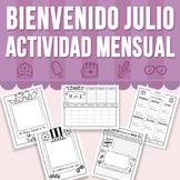 Bienvenido Julio - Actividad Mensual (Distance Learning)