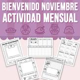 Bienvenido Noviembre - Actividad Mensual (Distance Learning)