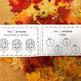 Bienvenido Otoño - Welcome Fall - Spanish Numbers 1-10 Workbook