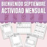 Bienvenido Septiembre - Actividad Mensual (Distance Learning)