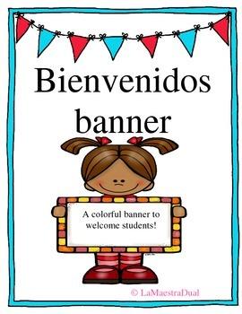 Bienvenidos Banner