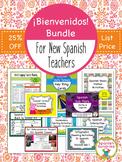 Bienvenidos Bundle for New Spanish Teachers