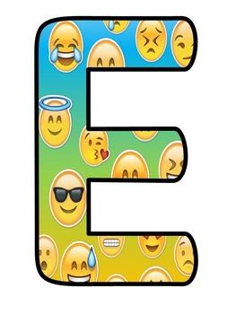 Bienvenidos Letras - Emoji/Emoticons