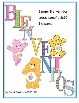 Bienvenidos Motivo Care Bears