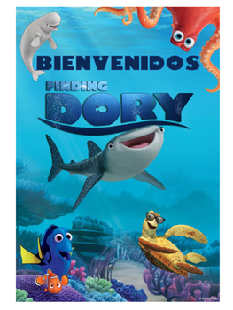 Bienvenidos Motivo Finding Dory