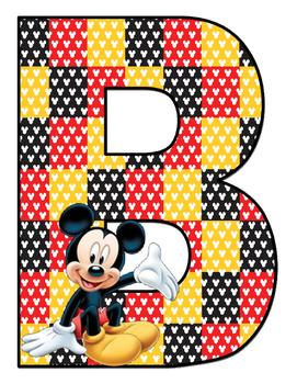 Bienvenidos Motivo Mickey