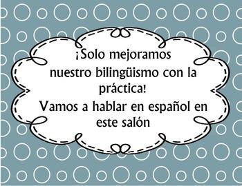 Bienvenidos Spanish Welcome sign
