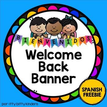 Bienvenidos Welcome Banner