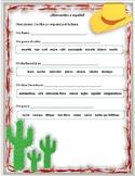 Bienvenidos a español Worksheet