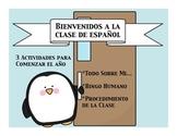 Bienvenidos a la clase de espanol worksheets