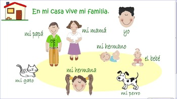 Mi casa y mi familia - family and house bundle
