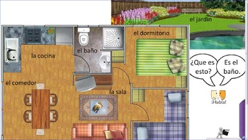 Mi casa y mi familia 2 - family and house bundle