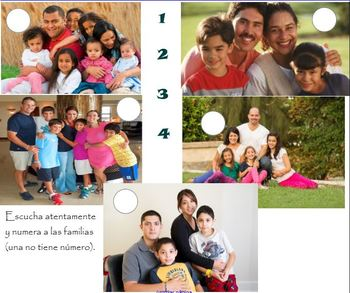 Mi casa y mi familia 4 - family and house bundle