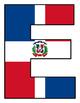 Bienvenidos y Español Motivo Banderas