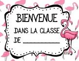Bienvenue dans la classe de