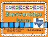 Bienvenidos Printable Banner- Spanish Welcome Banner