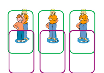 Biff and Chip set of character cards