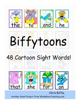 Biffytoons (Sight Word) Manual