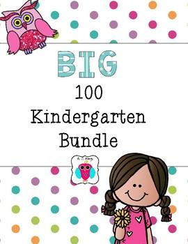 Big 100 Kindergarten Bundle