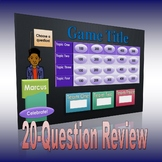 Big 20-Question Game Template