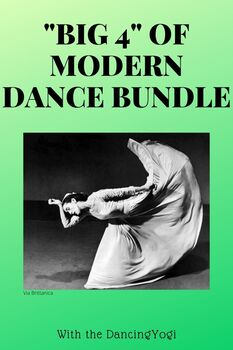 Big 4 of Modern Dance Bundle