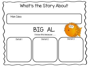Big Al ~ 36 pgs. Common Core Activities