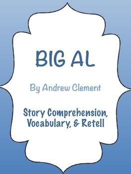 Big Al - Ocean & Emotion Theme - Story Comprehension, Vocabulary, & Retell