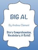 Big Al - Ocean & Emotion Theme - Story Comprehension, Voca