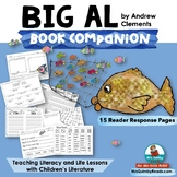 Big Al - Reader Response Pages- Reading-Writing- Children'