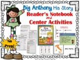 Big Anthony His Story by Tomie dePaola {Book Study and Center Activities}