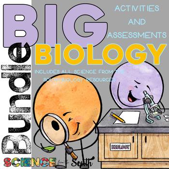 Big BIOLOGY *****GROWING***** Bundle of Activities and Ass