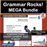 Grammar Songs MEGA BUNDLE supports Jolly Grammar