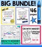 Big BUNDLE: Growth Mindset Coloring Sets #1-4