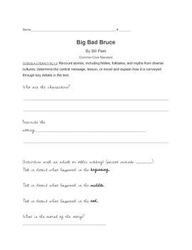Big Bad Bruce by Bill Peet