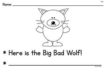 Fairytale Writing - Big Bad Wolf