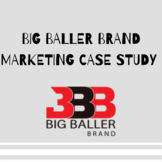 Business of Sports Marketing: Big Baller Brand Case Study