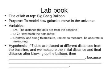 Big Bang Baloon