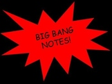 Big Bang PowerPoint, Notes, and Lesson Plan