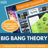 Big Bang Theory Complete 5E Lesson Plan